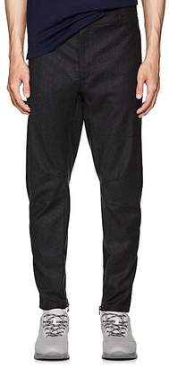 Lanvin Men's Wool-Cashmere Biker Trousers
