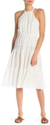 Rebecca Taylor Striped Sleeveless Dress
