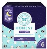 The Honest Company Sleepy Sheep Club Box Overnight Diapers
