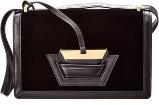 Loewe Barcelona Velvet Shoulder Bag