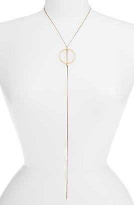 Women's Jenny Bird Rhine Lariat Necklace $95 thestylecure.com