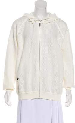 Christian Dior Hooded Perforated Jacket