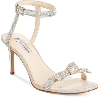 INC International Concepts Laniah Evening Sandals, Only at Macy's $89.50 thestylecure.com