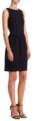 Emporio Armani Grosgrain Pleat Dress