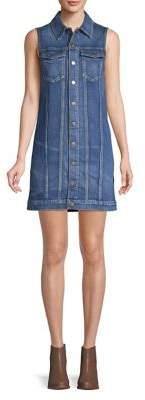 Hudson Sleeveless Denim Shirtdress