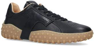 J.P Tods Leather Nuova Cass Sneakers