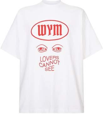 Wooyoungmi Oversized Eye T-Shirt