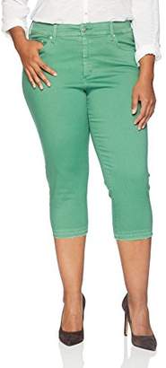 NYDJ Women's Plus Size Capri with Released Hem
