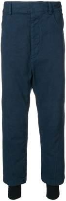 Haider Ackermann layered drop-crotch Trousers