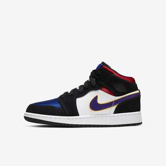 Nike Big Kids' Shoe Air Jordan 1 Mid SE