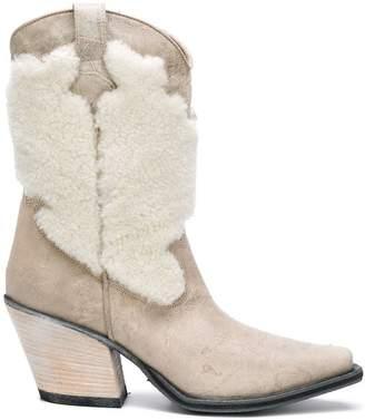 McQ cowboy boots