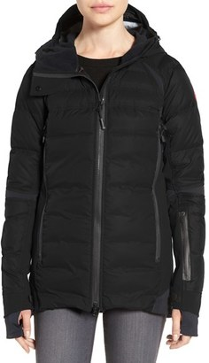 Women's Canada Goose Hybridge Sutton Waterproof Down Jacket $950 thestylecure.com
