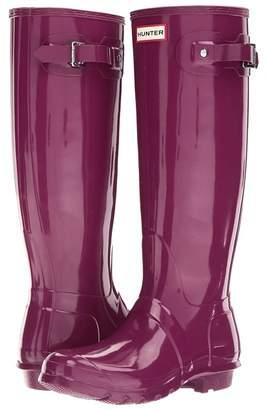 Hunter Tall Gloss Rain Boots Women's Shoes