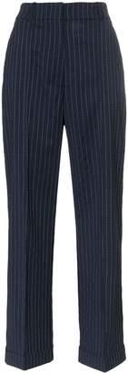 Racil charlie pinstripe wool trousers
