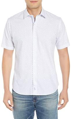 Tailorbyrd Arrie Regular Fit Print Sport Shirt