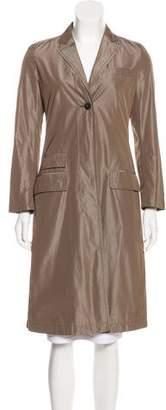 Rene Lezard Lightweight Knee-Length Coat