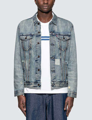 Levi's Shadow Puzzle Trucker Jacket