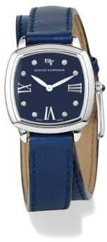 David Yurman Albion 27Mm Leather Swiss Quartz Watch
