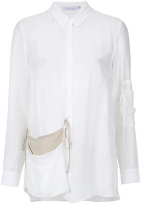 Mara Mac hanging pocket shirt