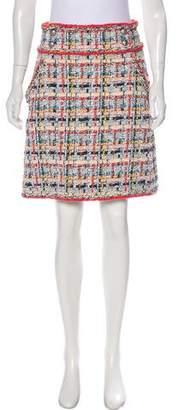 Chanel Fantasy Tweed Knee-Length Skirt w/ Tags