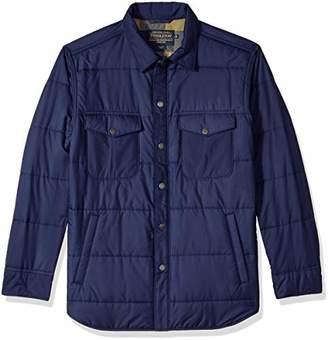 Pendleton Men's Long Sleeve Lightweight Quilted Shirt Jacket