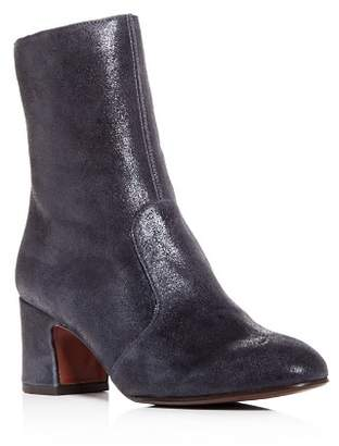 Chie Mihara Women's Odin Nubuck Leather Block-Heel Boots