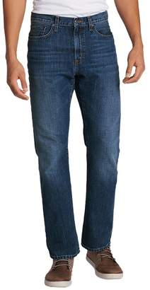Eddie Bauer Men's Authentic Jeans - Straight Fit, Faded Indigo Regular 36/30