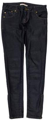 Victoria Beckham Low-Rise Skinny Jeans