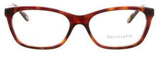 Tiffany & Co. Tortoiseshell Embellished Eyeglasses w/ Tags