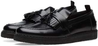 Fred Perry Authentic x George Cox Leather Tassel Loafer