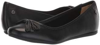 Hush Puppies Heather Bow Ballet Women's Slip on Shoes