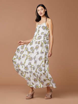 Diane von Furstenberg Baylee Silk Maxi Dress
