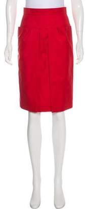 Hermes Vintage Knee-Length Skirt