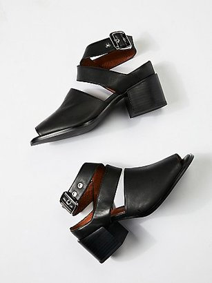 Blaine Ii Block Heel by Jeffrey Campbell + Free People $178 thestylecure.com