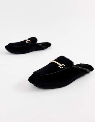 Dunlop Metal Bar Slip On Slippers