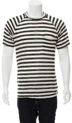 Yigal Azrouel Striped Knit T-Shirt