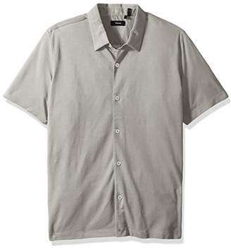 Theory Men's Knit Shirt Ss.Air Pique