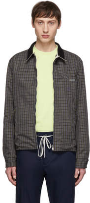 Lanvin Reversible Grey Shirt Jacket