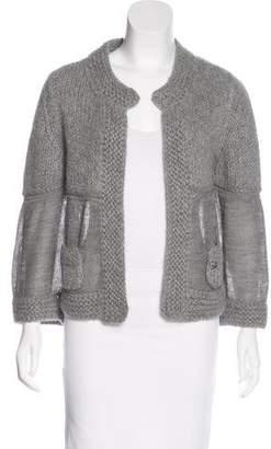 Chanel Alpaca Knit Cardigan