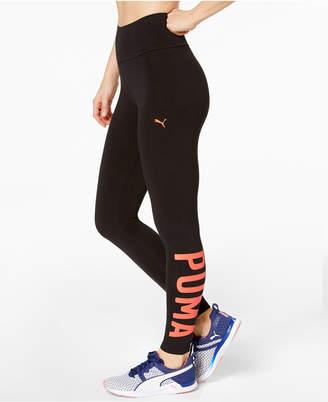 Puma dryCELL High-Waist Logo Leggings