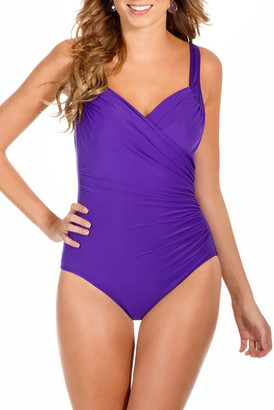Miracle Suit &Sanibel& Underwire One-Piece Swimsuit $162 thestylecure.com