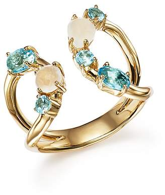Ippolita 18K Yellow Gold Rock Candy Mixed Stone Ring in Raindrop