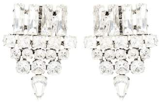 Saint Laurent Embellished clip-on earrings
