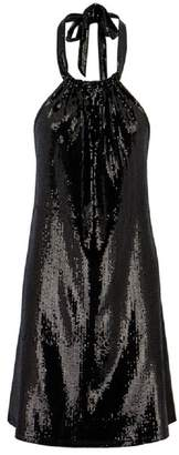 Bishop + Young Sequin Halter Dress