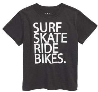 Chaser Surf Skate Ride Bikes T-Shirt