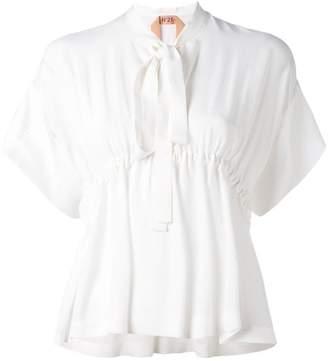 No.21 bow-neck blouse