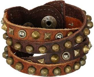 Leather Rock B511 Bracelet