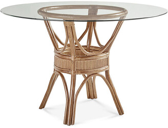Bermuda Rattan Round Dining Table - Natural - South Sea Rattan