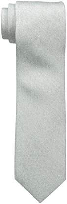 Cole Haan Men's 100 Percent Silk Washed solid Tie