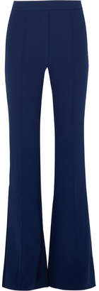 Ellery Orlando Crepe Flared Pants - Navy